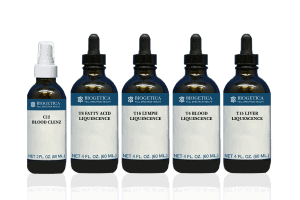 Biogetica Essentials Kit with Blood and Lymph Detox Formula
