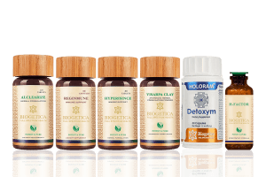 Doctor Recommended 4 Month Supply Salvation Kit With Hypericum Mysorense, Alclearize and Homeopathic H factor
