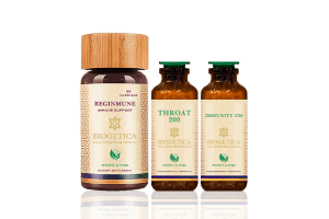 Doctor Recommended 4 Month Supply Biogetica Freedom Kit with Throat 200 Formula