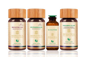 Doctor Recommended 6 Months Supply Rescue Kit With Hypericum Mysorense And Homeopathic H Factor