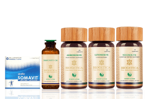 Core immunity boost kit with lung health and nicosolve formula